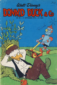 Cover Thumbnail for Donald Duck & Co (Hjemmet, 1948 series) #38/1974