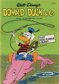 Cover Thumbnail for Donald Duck & Co (Hjemmet, 1948 series) #42/1974