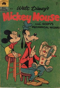 Cover Thumbnail for Walt Disney's Mickey Mouse (W. G. Publications; Wogan Publications, 1956 series) #37