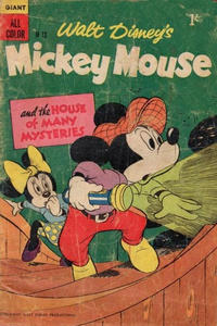 Cover Thumbnail for Walt Disney's Mickey Mouse (W. G. Publications; Wogan Publications, 1956 series) #13