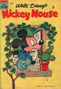 Cover Thumbnail for Walt Disney's Mickey Mouse (W. G. Publications; Wogan Publications, 1956 series) #21