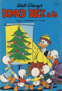 Cover Thumbnail for Donald Duck & Co (Hjemmet, 1948 series) #50/1974