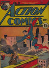 Cover for Action Comics (DC, 1938 series) #28 [15¢ edition]