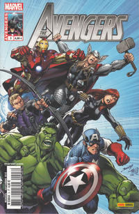 Cover Thumbnail for Avengers (Panini France, 2012 series) #3
