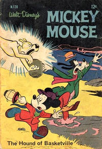 Cover Thumbnail for Walt Disney's Mickey Mouse (W. G. Publications; Wogan Publications, 1956 series) #126