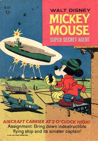 Cover Thumbnail for Walt Disney's Mickey Mouse (W. G. Publications; Wogan Publications, 1956 series) #121
