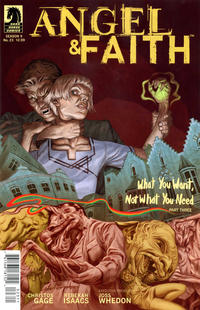 Cover Thumbnail for Angel & Faith (Dark Horse, 2011 series) #23 [Steve Morris Cover]
