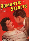 Cover for Romantic Secrets (Export Publishing, 1950 series) #1
