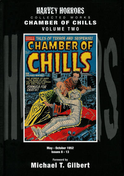 Cover for Harvey Horrors Collected Works: Chamber of Chills (PS, 2011 series) #2