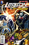 Cover for Legion of Super-Heroes (DC, 2011 series) #22
