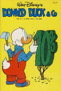 Cover Thumbnail for Donald Duck & Co (Hjemmet, 1948 series) #15/1976