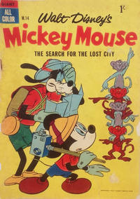 Cover Thumbnail for Walt Disney's Mickey Mouse (W. G. Publications; Wogan Publications, 1956 series) #14