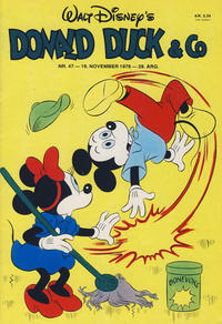 Cover Thumbnail for Donald Duck & Co (Hjemmet, 1948 series) #47/1976