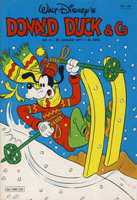 Cover Thumbnail for Donald Duck & Co (Hjemmet, 1948 series) #4/1977
