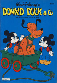 Cover Thumbnail for Donald Duck & Co (Hjemmet, 1948 series) #15/1977