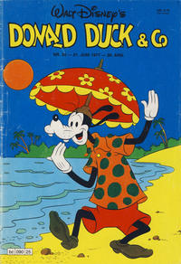 Cover Thumbnail for Donald Duck & Co (Hjemmet, 1948 series) #25/1977