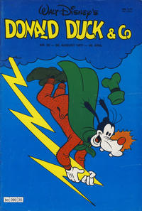 Cover Thumbnail for Donald Duck & Co (Hjemmet, 1948 series) #35/1977