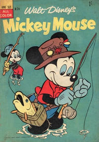 Cover Thumbnail for Walt Disney's Mickey Mouse (W. G. Publications; Wogan Publications, 1956 series) #24