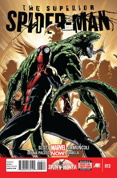 Cover for Superior Spider-Man (Marvel, 2013 series) #13