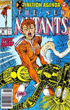 Cover Thumbnail for The New Mutants (1983 series) #95 [Newsstand Edition]