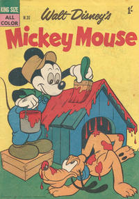 Cover Thumbnail for Walt Disney's Mickey Mouse (W. G. Publications; Wogan Publications, 1956 series) #36