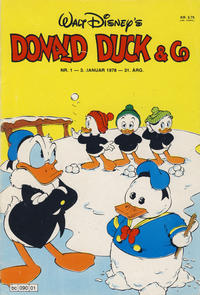 Cover Thumbnail for Donald Duck & Co (Hjemmet, 1948 series) #1/1978