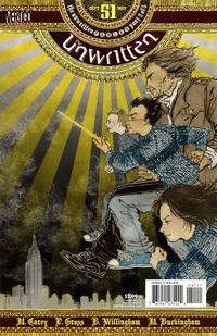 Cover Thumbnail for The Unwritten (DC, 2009 series) #51