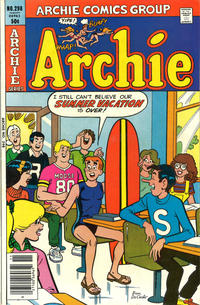 Cover Thumbnail for Archie (Archie, 1959 series) #298