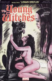 Cover Thumbnail for Young Witches: London Babylon (Fantagraphics, 1995 series) #1