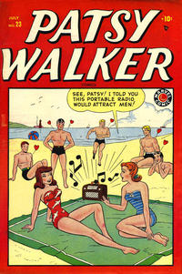 Cover Thumbnail for Patsy Walker (Marvel, 1945 series) #23