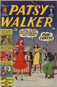 Cover Thumbnail for Patsy Walker (Marvel, 1945 series) #36