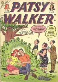 Cover Thumbnail for Patsy Walker (Marvel, 1945 series) #53
