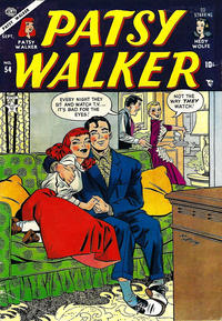 Cover Thumbnail for Patsy Walker (Marvel, 1945 series) #54
