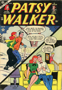 Cover Thumbnail for Patsy Walker (Marvel, 1945 series) #56