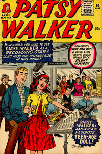 Cover Thumbnail for Patsy Walker (Marvel, 1945 series) #90