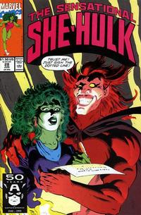 Cover Thumbnail for The Sensational She-Hulk (Marvel, 1989 series) #28