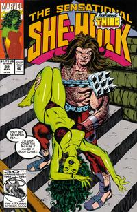Cover Thumbnail for The Sensational She-Hulk (Marvel, 1989 series) #39