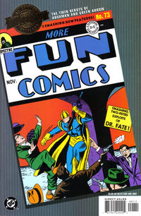 Cover Thumbnail for Millennium Edition: More Fun Comics 73 (DC, 2001 series)
