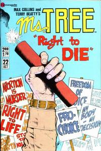 Cover Thumbnail for Ms. Tree (Renegade Press, 1985 series) #22
