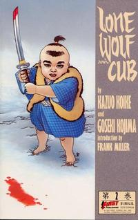 Cover Thumbnail for Lone Wolf and Cub (First, 1987 series) #2