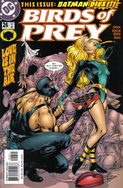 Cover for Birds of Prey (1999 series) #26
