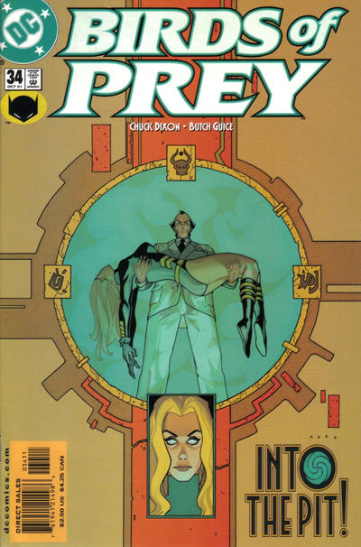 Cover for Birds of Prey (DC, 1999 series) #34