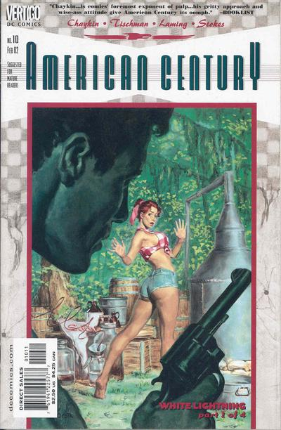 Cover for American Century (DC, 2001 series) #10
