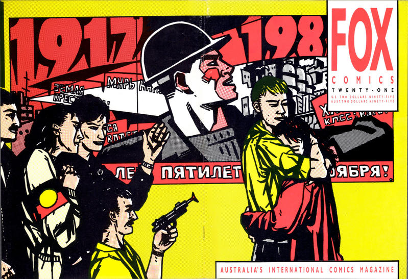 Cover for Fox Comics (Fox Comics, 1984 series) #21