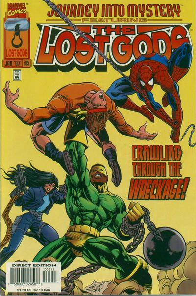 Cover for Journey into Mystery (Marvel, 1996 series) #505