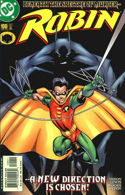 Cover for Robin (DC, 1993 series) #100