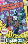 Cover for Atari Force (DC, 1984 series) #16 [Newsstand]
