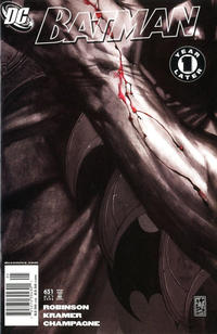 Cover for Batman (DC, 1940 series) #651 [Direct]