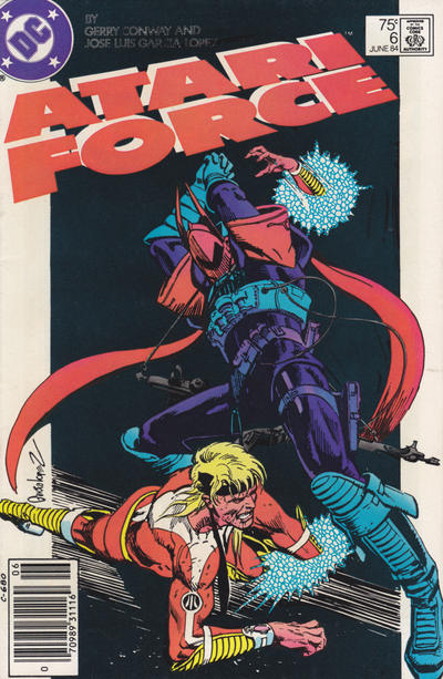Cover for Atari Force (DC, 1984 series) #6 [Direct Edition]