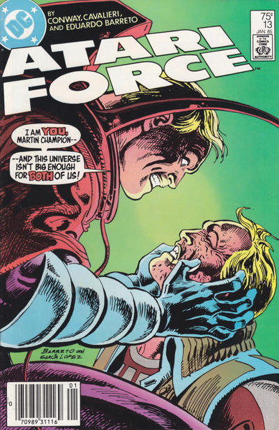 Cover for Atari Force (DC, 1984 series) #13 [Direct-Sales Variant]